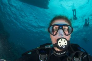 Diving professionals: Sarah O'Gorman. Marsa Alam, Egypt.