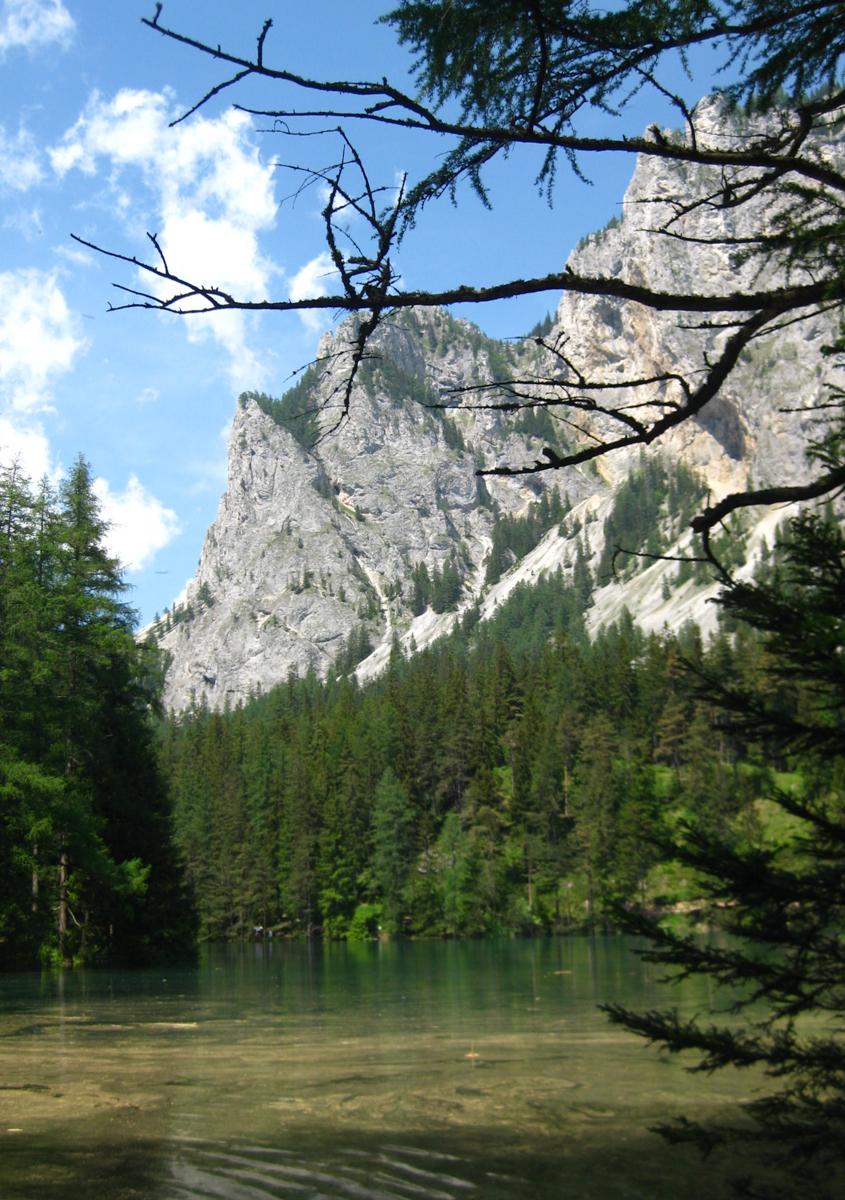 Österreich_Steiermark_Grüner_See_Tragöß_2009-10