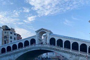 Unterwegs in Europa: Venedig im Jahre 2020.
